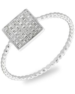 Aurora Diamond Pave Square Ring (nordstrom Exclusive)