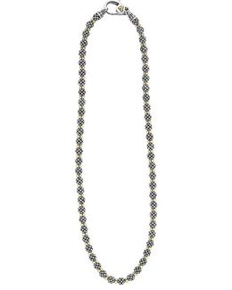'forever' Caviar Beaded Necklace