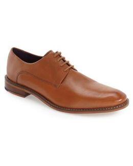 'irron 3' Plain Toe Derby