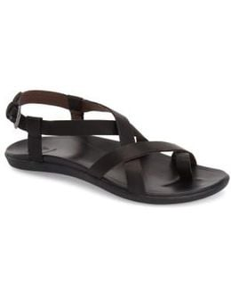 Upena Leather Sandals