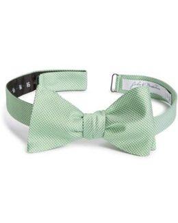 John W. Nordstrom Dot Silk Bow Tie