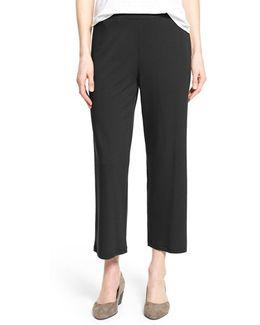 Crop Jersey Pants