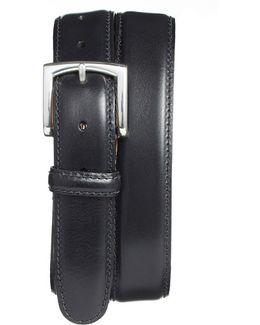 Calfskin Leather Belt