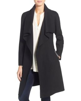 Tailored Wool-Blend Coat