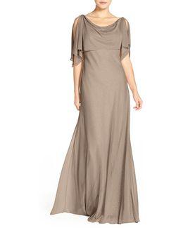 Deveon Glitter Knit Gown