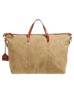 The Transport Canvas Weekend Bag