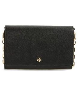 'robinson' Leather Wallet On A Chain