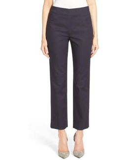 'perfect' Side Zip Ankle Pants