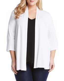 'molly' Open Jersey Cardigan