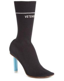Sock Stretch Mid-Calf Boots