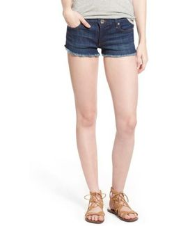 Joey Flap Pocket Cutoff Denim Shorts