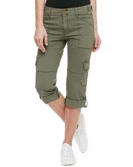 'habitat' Crop Pants