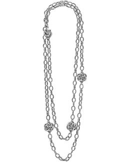 'love Knot' Link Necklace