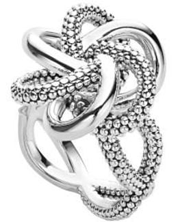 'love Knot' Twist Ring