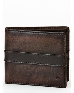 'oliver' Leather Billfold Wallet