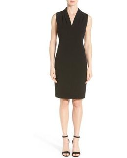 Tonya Stretch-Crepe Dress