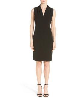 Tonya Stretch-Crepe Dress