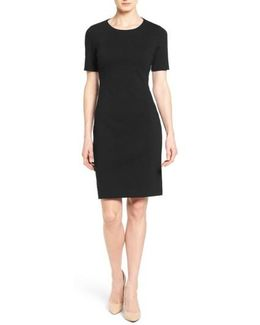 'judianne' Short Sleeve Sheath Dress