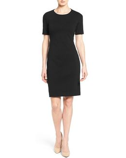 'judianne' Short Sleeve Sheath Dress