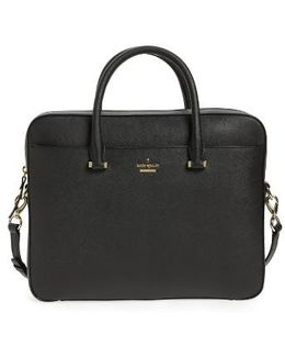 Saffiano Leather 13 Inch Laptop Bag