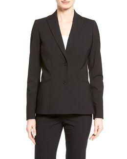 Rhonda Stretch-Wool Jacket