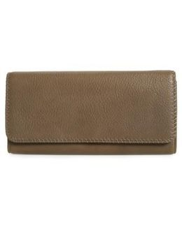 'era Wristie' Leather Wristlet