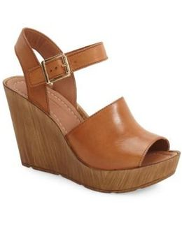 'willow' Platform Wedge Sandal