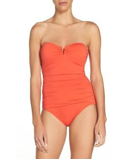 'pearl' Convertible One-piece Swimsuit