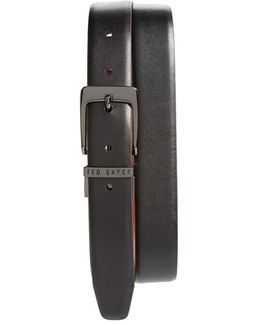 'lizlow' Reversible Leather Belt