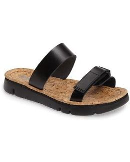 'oruga' Two Strap Slide Sandal
