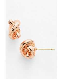 'sailors Knot' Mini Stud Earrings