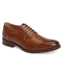 'garner' Plain Toe Derby