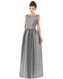 Dupioni A-Line Gown