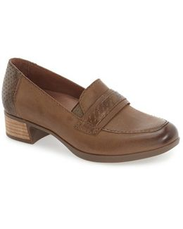 Lila Leather Loafers
