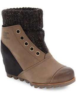 Joanie Waterproof Wedge Bootie
