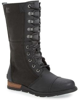 'major Maverick' Mid Calf Zip Boot
