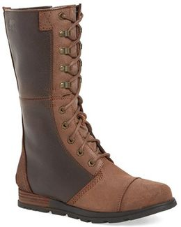 'major Maverick' Mid Calf Zip Boot