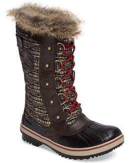 'tofino Ii' Faux Fur Lined Waterproof Boot