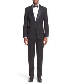 Trim Fit Wool Tuxedo