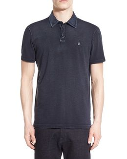 'peace' Slim Fit Polo
