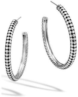 'dot' Hoop Earrings