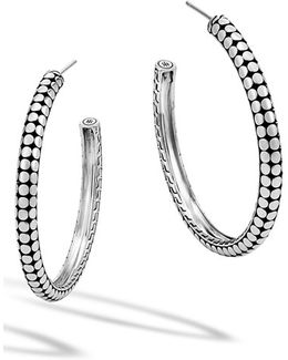 'dot' Hoop Earrings