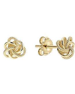 'love Knot' Stud Earrings