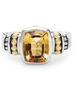 'caviar Color' Small Semiprecious Stone Ring