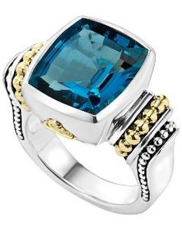 'caviar Color' Medium Semiprecious Stone Ring
