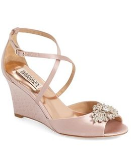 'abigail' Peep Toe Wedge