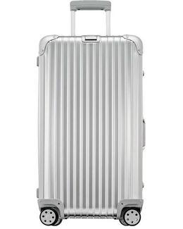 Topas 28 Inch Sport Multiwheel Aluminum Packing Case - Metallic