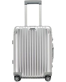 Topas 22 Inch Cabin Multiwheel Aluminum Carry-on - Metallic