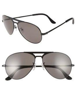 51mm Manubrium Aviator Sunglasses