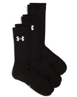 Elevated Performance 3-pack Socks, White